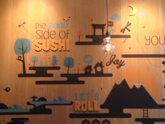 Chez Makisu, l'Innocent des sushis.