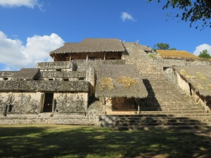 Ek Balam - Pyramide
