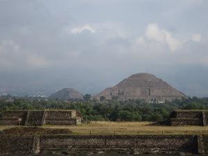 Teotihuacan - Vue sur le site
