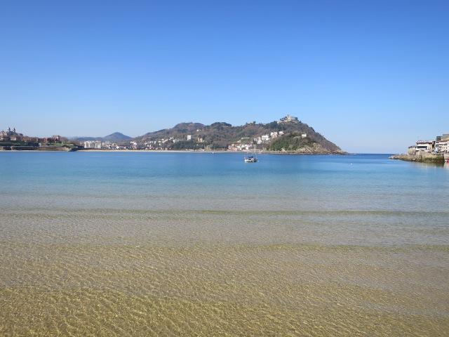 La Concha, baie de San Sebastian