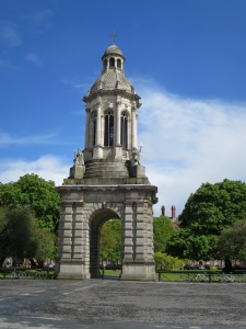 Le clocher de Trinity College.