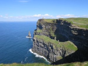 Les cliffs of Moher