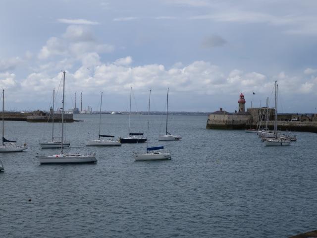 Le port de Dun Laoghaire